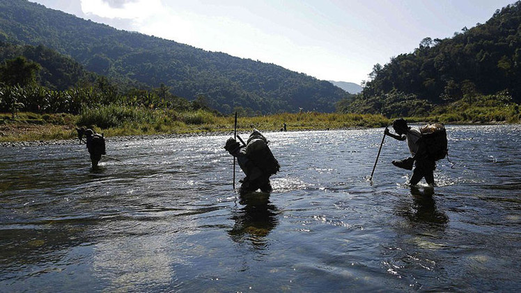 Impresionantes fotos de la tribu que permanecía aislada del mundo exterior