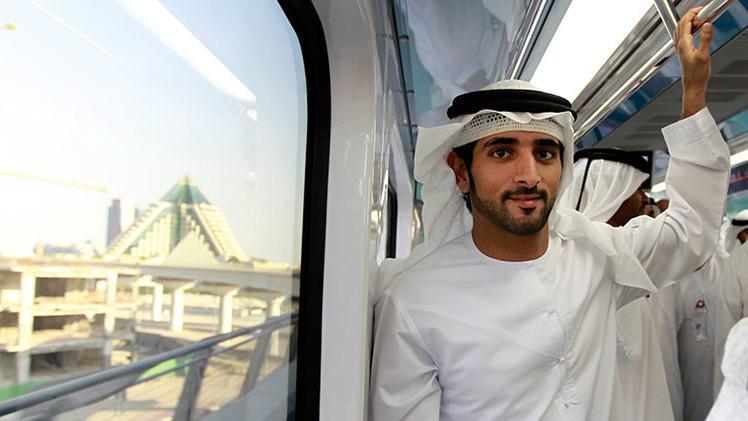 FOTOS: El cuento de hadas oriental del príncipe de Dubái