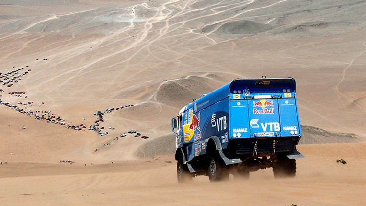 Dakar 2015: Nikoláyev lidera la 8.ª etapa tras el fracaso del sábado de Kamaz