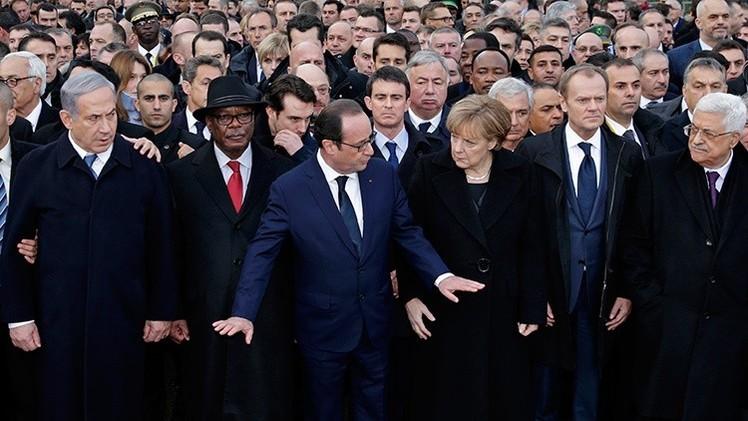 Un estudiante denuncia la hipocresía de algunos políticos que marcharon por la libertad en París