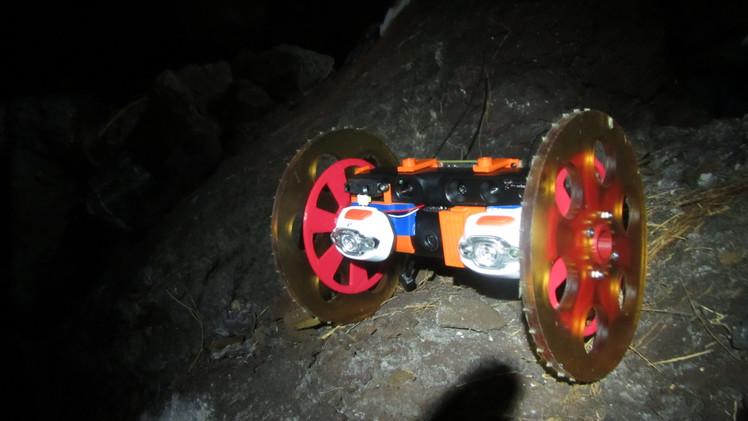 robot volcan NASA