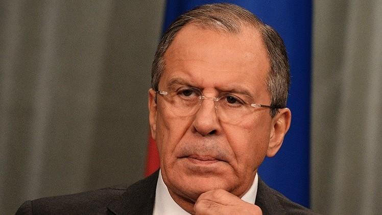 Lavrov: Los que perpetraron el ataque en París lucharon en Siria para derrocar a al-Asad