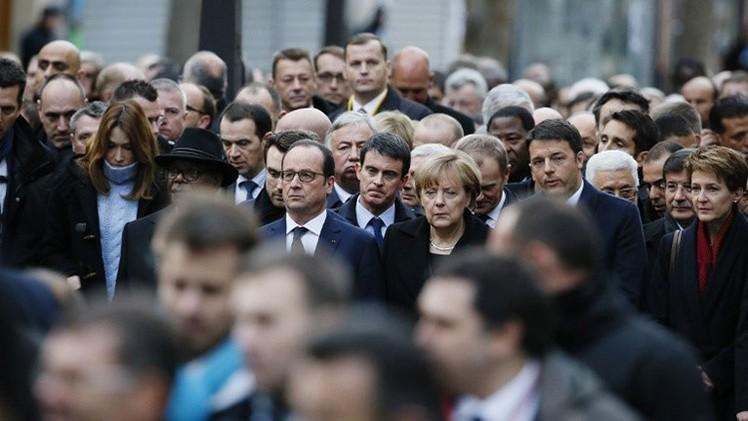 Obama y Biden brillan por su ausencia en la marcha antiterrorista de París