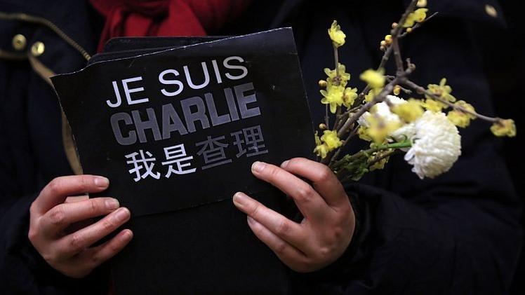 Twitter publica la visualización del uso de #JeSuisCharlie en el mundo