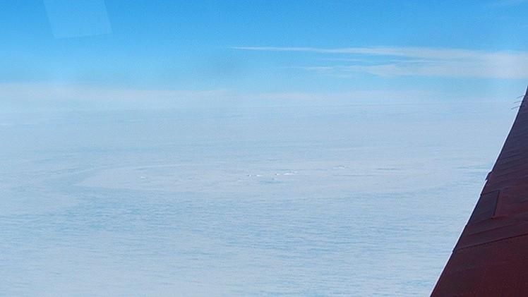 Una 'cicatriz' en los hielos de la Antártida desconcierta a los científicos