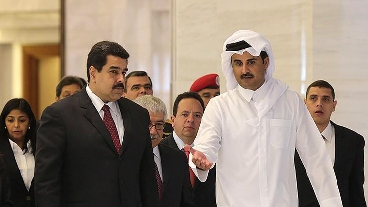Venezuela recibirá apoyo de los bancos de Qatar para cubrir caída de petróleo