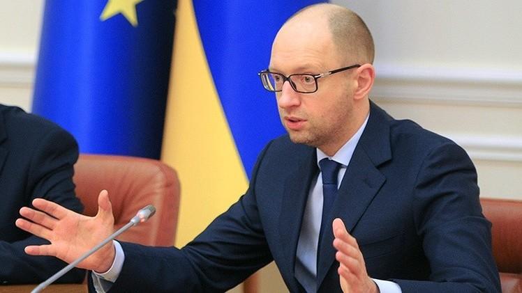 Europa hace la vista gorda a Yatseniuk: ¿El odio a Rusia, al descubierto?