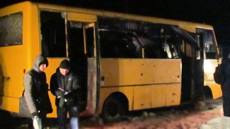 Cancillería rusa: Kiev es responsable por el ataque con proyectil al autobús en Donetsk