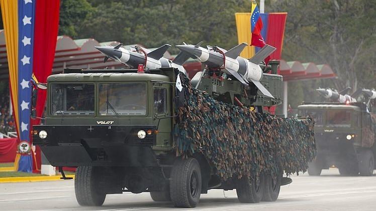 Infografía: La cooperación técnico-militar entre Rusia y Venezuela