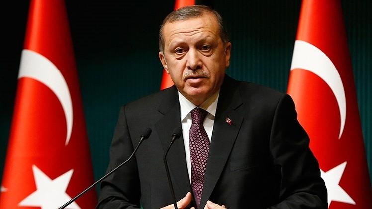 El presidente turco acusa a Occidente de hipocresía ante los ataques contra 'Charlie Hebdo'