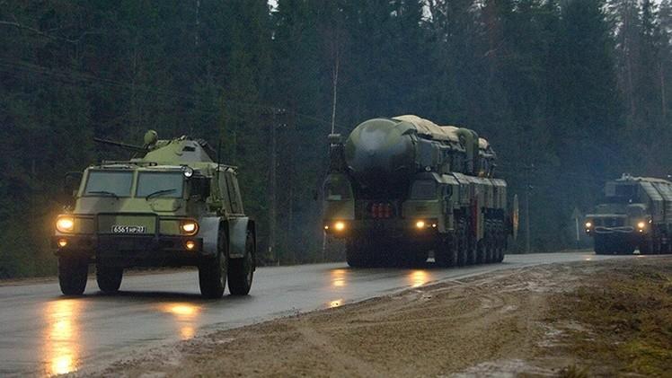 Video: Dotaciones de misiles estratégicos rusos se ejercitan en los bosques de Rusia Central