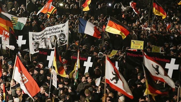 """PEGIDA a RT: """"No promovemos el odio; tratamos de preservar nuestra cultura"""""""