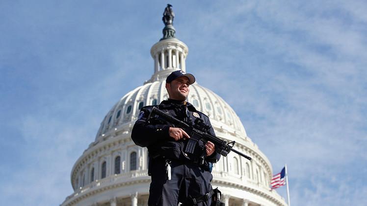 EE.UU.: Arrestan a un hombre sospechoso de planear un ataque en el Congreso