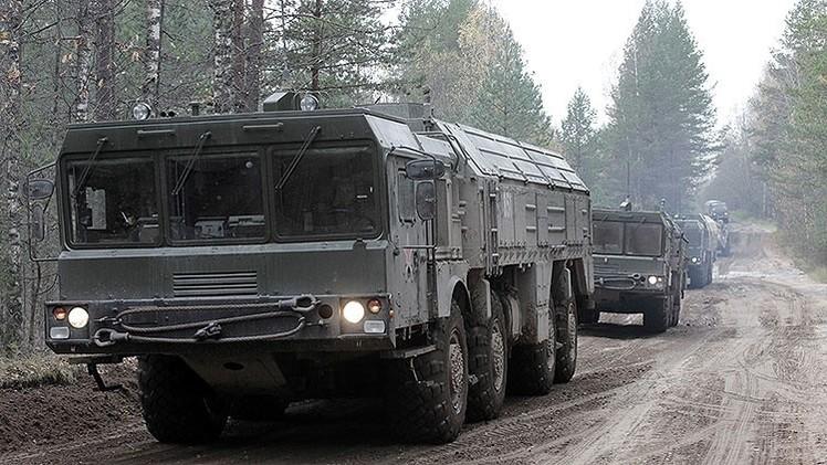 Rusia llevará a cabo ejercicios militares con el sistema de misiles Iskander-M