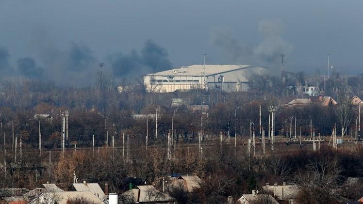 El Ejército ucraniano deja armas de EE.UU. en el aeropuerto de Donetsk