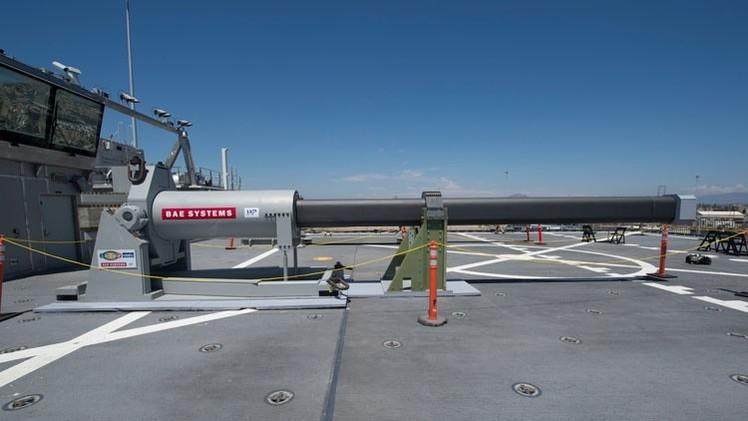 La Marina de EE.UU., lista para mostrar al mundo su cañón electromagnético