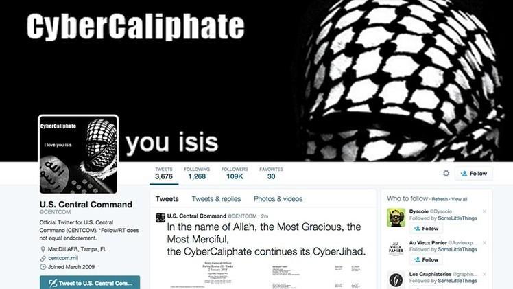 """El 'hackeo' del Pentágono en Twitter: ¿""""Qué hace ahí metido el Alto Mando?"""""""