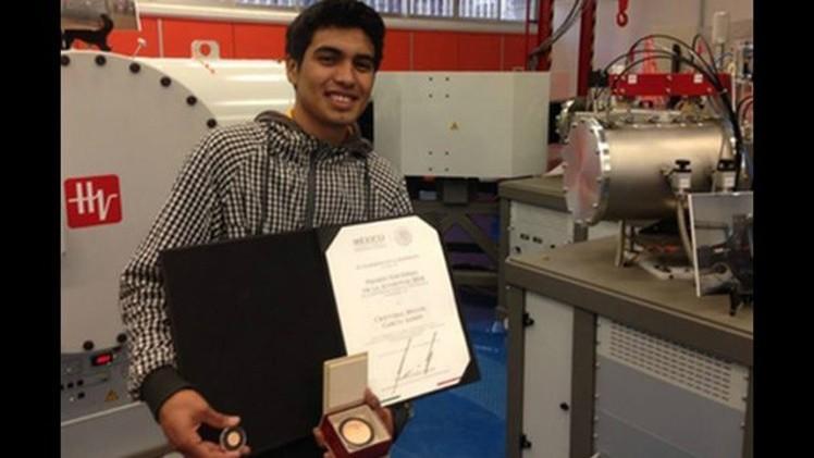Un estudiante mexicano inventa el acelerador de partículas más barato del mundo