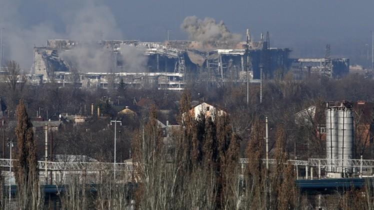 """Autodefensas de Donbass: """"El aeropuerto de Donetsk está bajo nuestro completo control"""""""