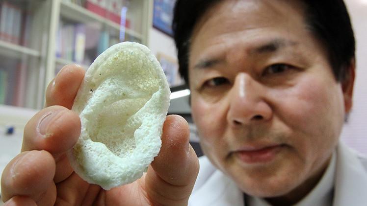 Japón apuesta por la impresión en 3D de partes del cuerpo humano