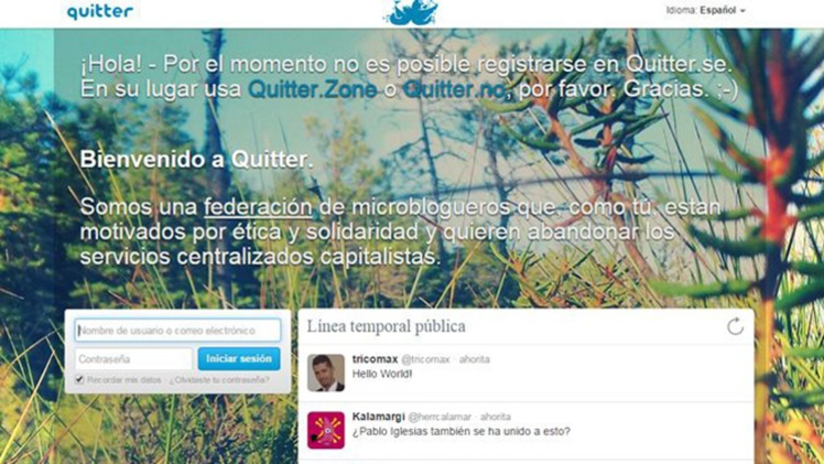 "Conozca a Quitter, una alternativa ""anticapitalista"" al Twitter"