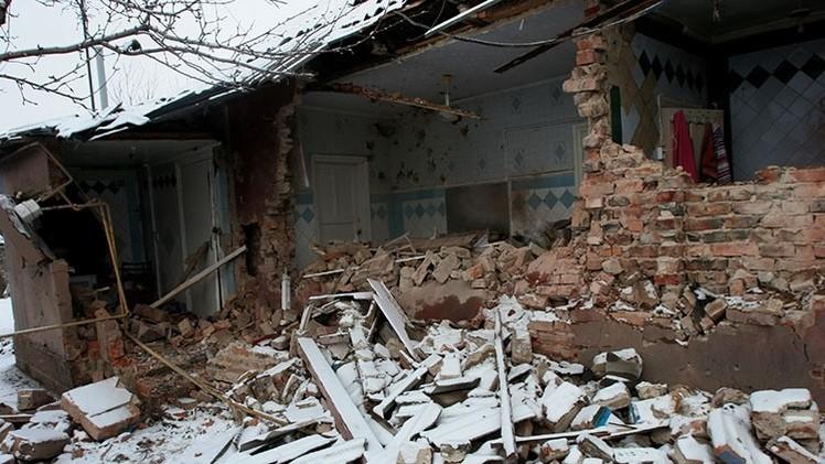 "Donetsk: ""El Ejército de Ucrania bombardeó Gorlovka con bombas de 500kg"""