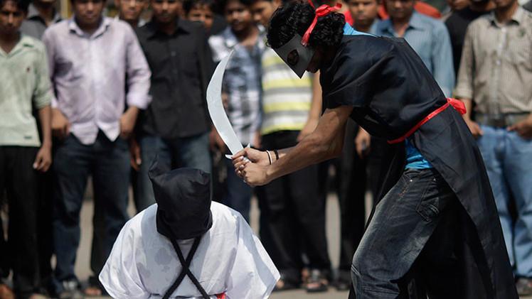Detienen al autor de la grabación de una decapitación pública en Arabia Saudita