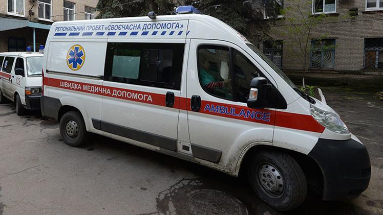 Ucrania: 13 heridos en una explosión cerca de un juzgado de Járkov