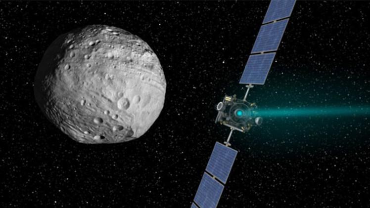 Nave espacial capta increíbles imágenes del planeta enano más pequeño del Sistema Solar