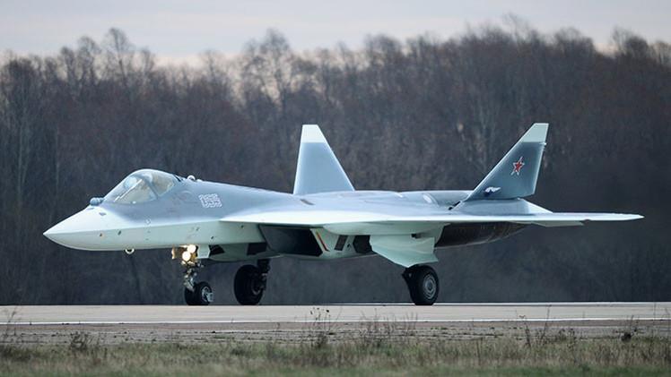 El cazabombardero ruso PAK-FA recibe un nuevo cañón