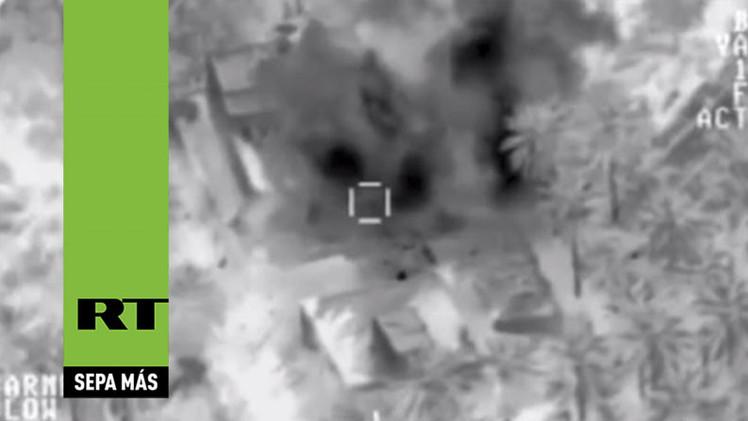 Video: Coalición arremete con devastadores bombardeos contra el Estado Islámico