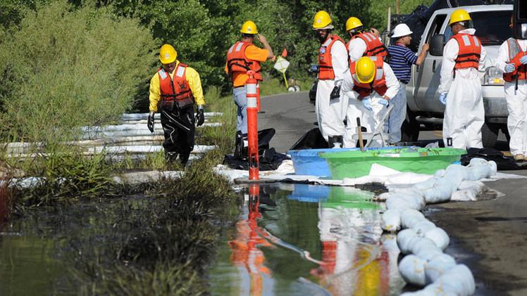 EE.UU.: Detectan agente cancerígeno en agua potable tras un derrame de petróleo