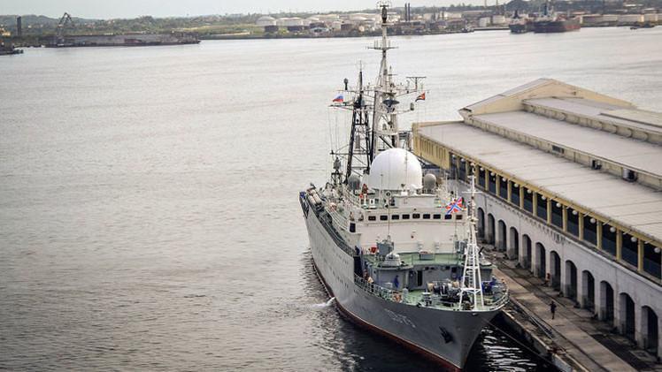 Un buque espía ruso entra en el puerto de La Habana antes de la reunión de Cuba y EE.UU.