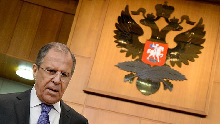 Lavrov denuncia la hipocresía de EE.UU.: condena Ferguson, pero calla sobre Maidán