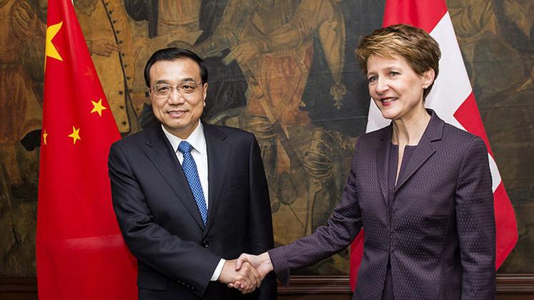 China y Suiza se preparan para lanzar el comercio de yuanes en Zúrich