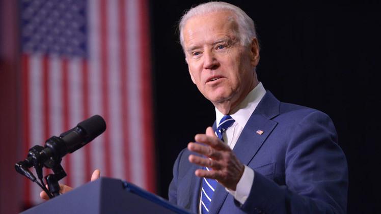 "Joseph Biden: Avances del EI en Siria se deben a la falta de ""botas sobre el terreno"""