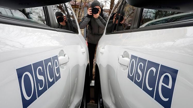 La OSCE confirma que no ha habido movimiento de equipo militar de Rusia a Ucrania