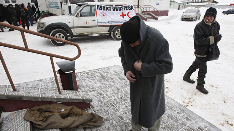 El metro de Moscú no expulsará a los mendigos para evitar que mueran de frío