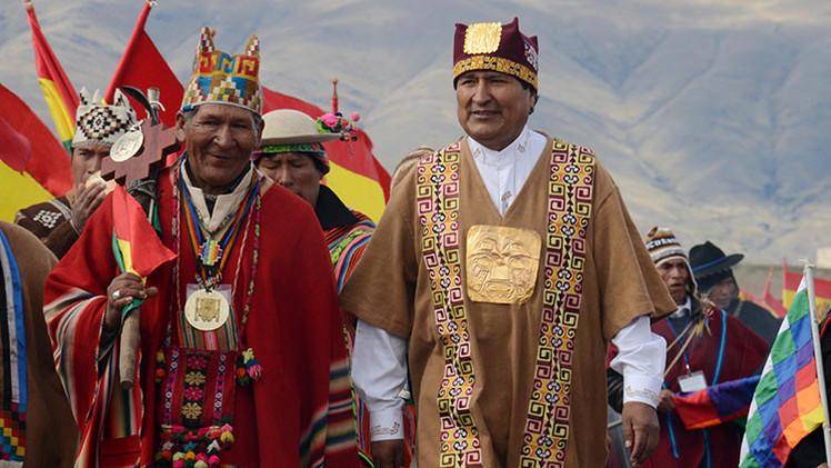 Evo Morales toma posesión oficial de su nuevo mandato