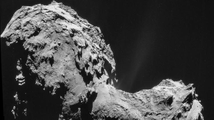 Hallazgos de Rosetta en Churiúmov-Guerasimenko desconciertan a los astrónomos