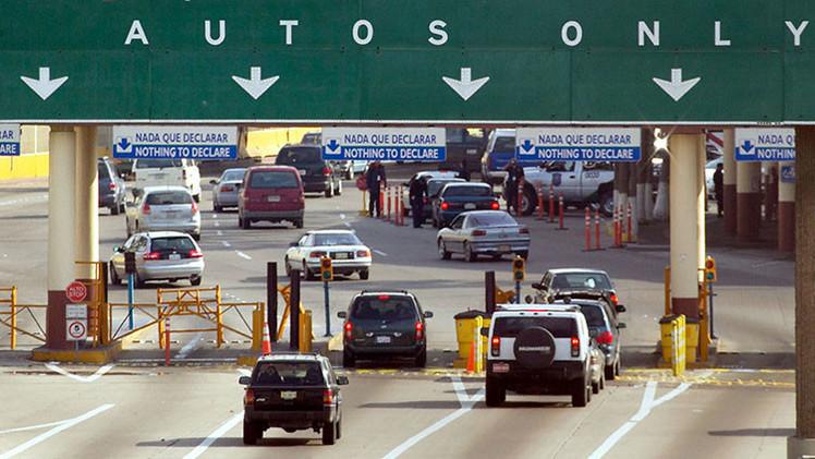 Los viajeros se convierten en involuntarias 'mulas' para los narcotraficantes mexicanos