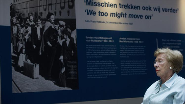 'Después de Auschwitz': La hermanastra de Ana Frank comparte sus recuerdos