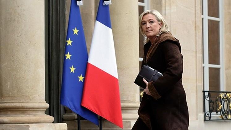 """Le Pen: """"La elección de Syriza es una monstruosa bofetada democrática para la Unión Europea"""""""