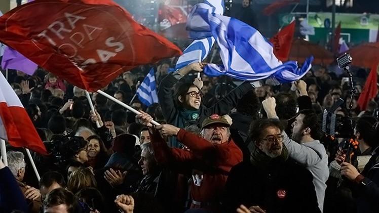 """La izquierda británica: """"Si pueden hacerlo en Grecia, también podemos hacerlo aquí"""""""