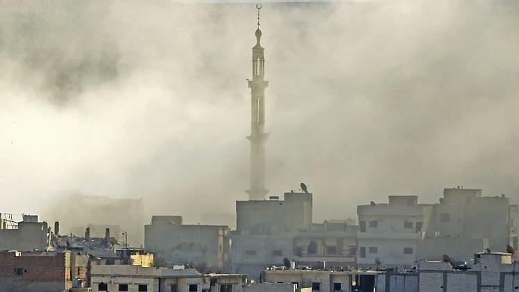 Las fuerzas kurdas expulsan al EI de Kobani