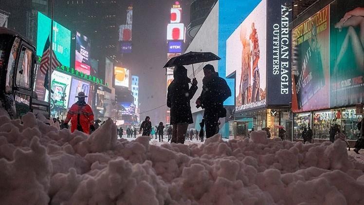 VIDEOS, FOTOS: El 'Armagedón de la nieve' amenaza a Nueva York