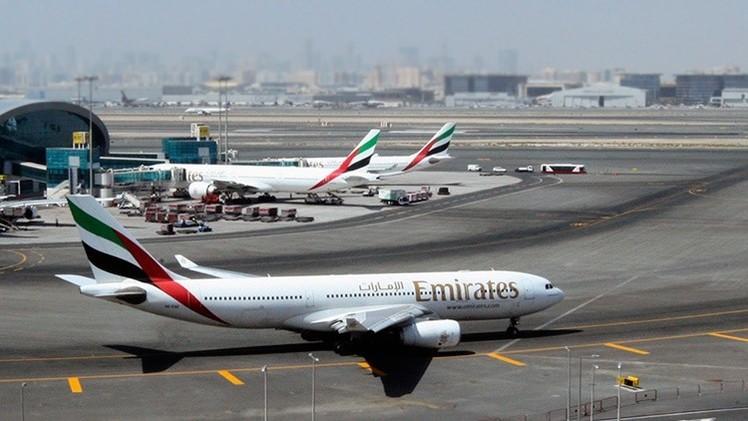 Disparan contra un avión de pasajeros emiratí en el aeropuerto de Bagdad