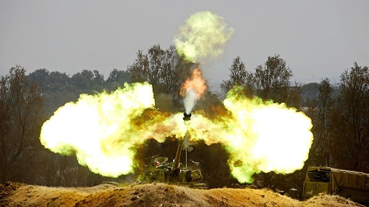 Israel responde con artillería al lanzamiento de cohetes desde Siria