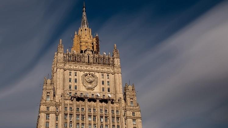 La cancillería rusa
