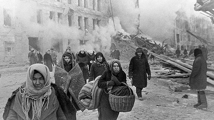 71 años del fin del sitio de Leningrado: 872 días de asedio y 1,2 millones de muertos